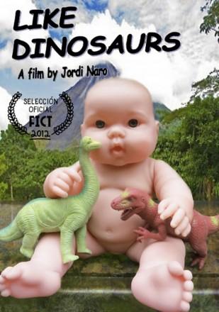 como-los-dinosaurios-poster