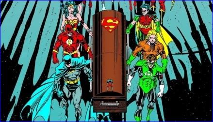 la-muerte-de-superman-ataud