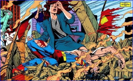 la-muerte-de-superman-caido