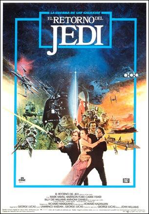 el-retorno-del-jedi-poster