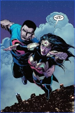 superman-y-wonder-woman-volando
