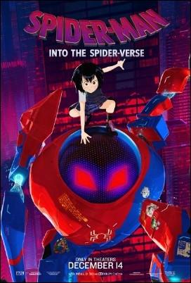 Pósters de personajes de Spider-Man: Un nuevo universo